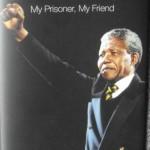 Mandela, book cover, Mandela My prisoner My friend, Christo Brand, Prison Warder, Robben Island,