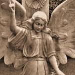 stone angel, angel, death, heaven, angel in heaven