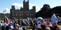 Battle Proms crowd at Highclere Castle