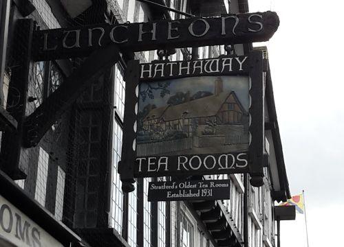 Hathaway Tearooms in Stratford