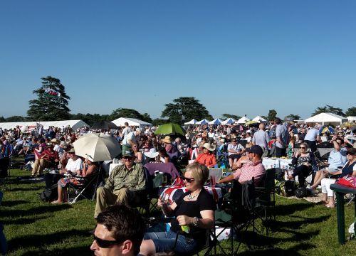 Battle Proms, Highclere Castle, picnic in the park, glorious summer