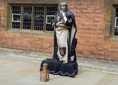 Living statue - Stratford upon Avon